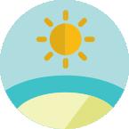 Солнце надо озером